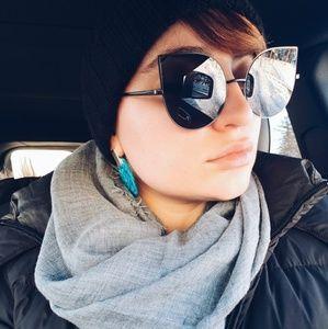 Accessories - Black Statement Sunglasses